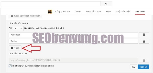 cap nhap link chat luong