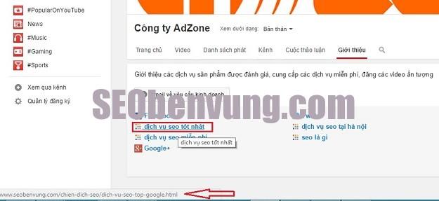 back link google