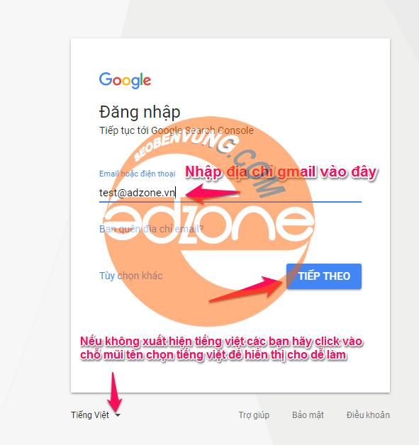 cách submit google